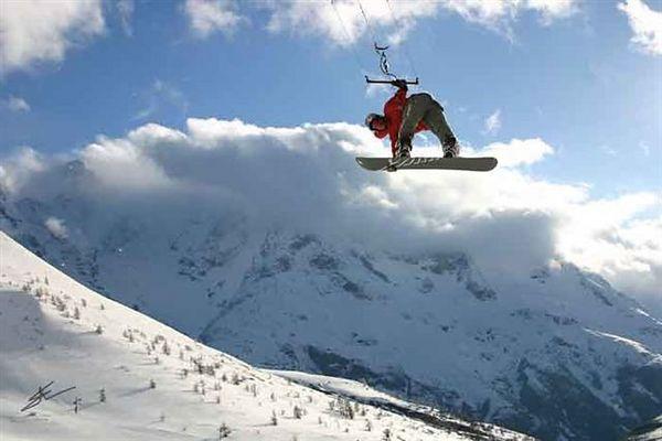 SnowAffair Snowkite Photos